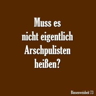 Arschpulisten